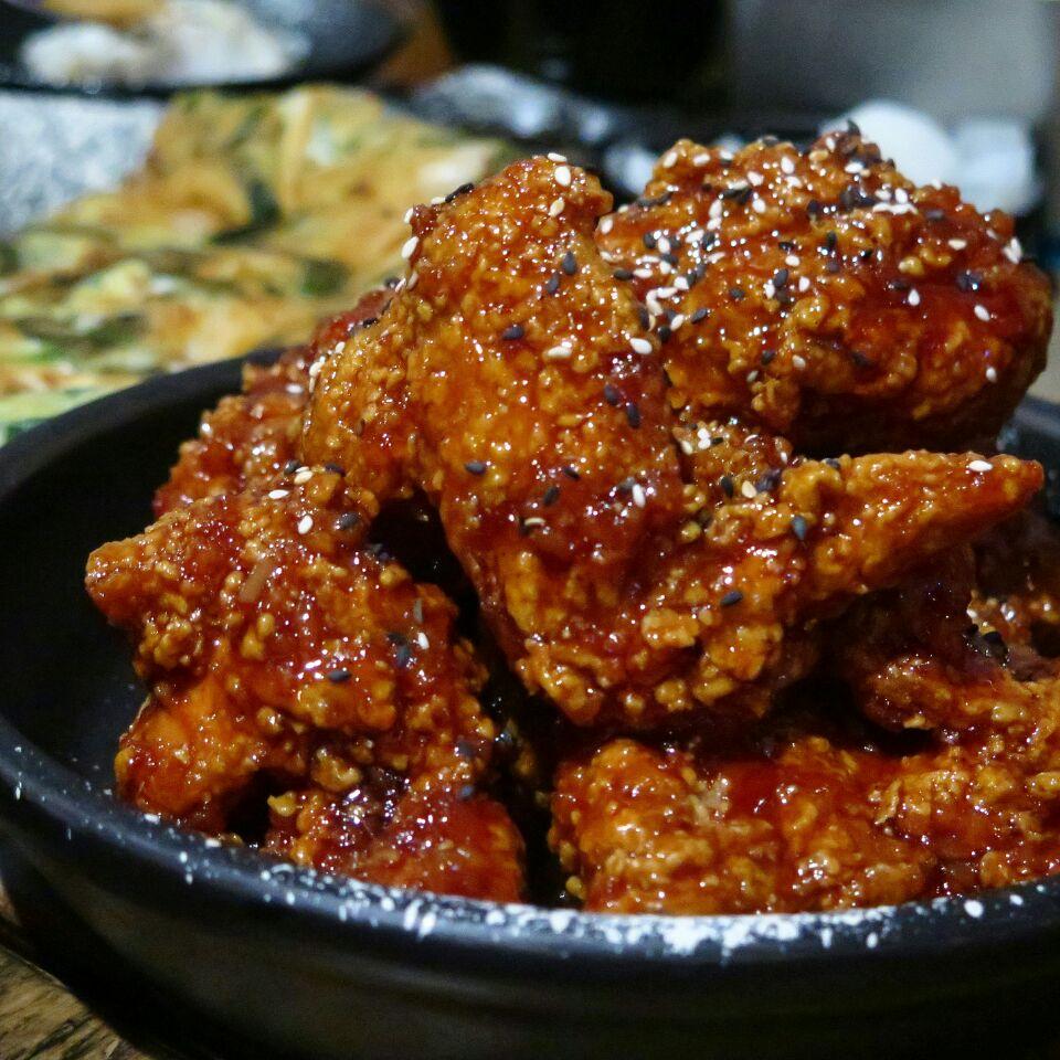 sauced original boneless ($22) @ ofc, chun tin road