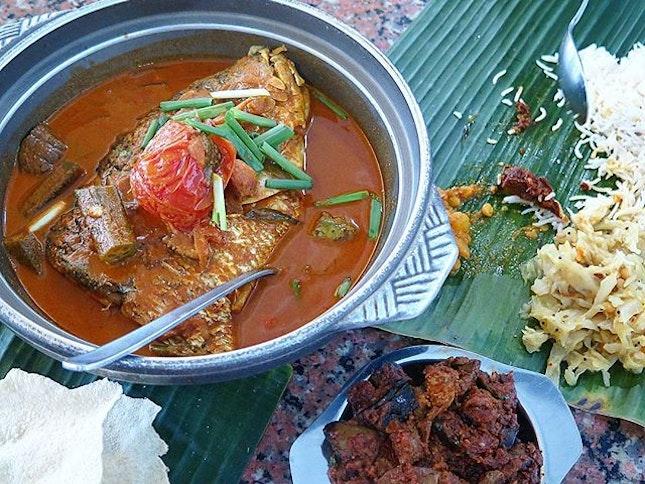 small curry fish head ($23.50) @ karu