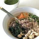 thunder tea rice ($8.50) @ sunnychoice