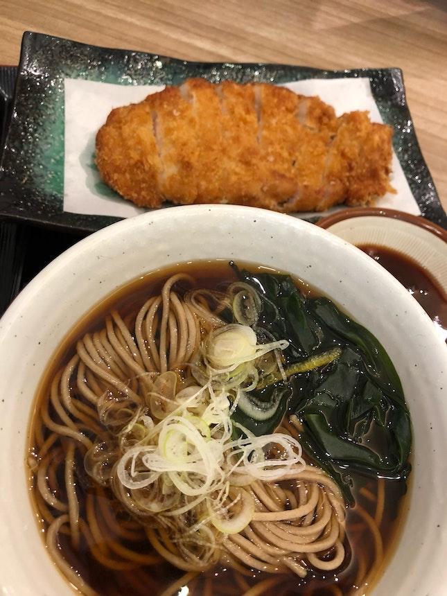 Pork Katsu Soba
