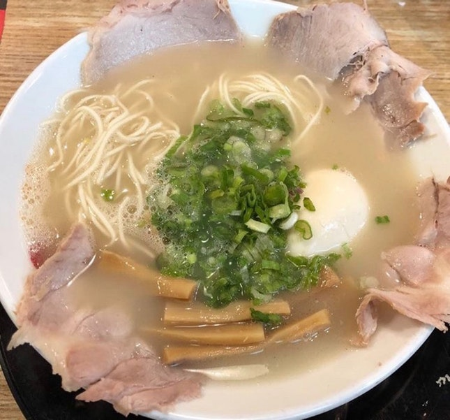 Shio Tonkatsu + Special Toppings + Flavoured Egg $17.50