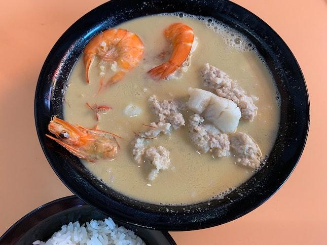 Seafood Soup | $8