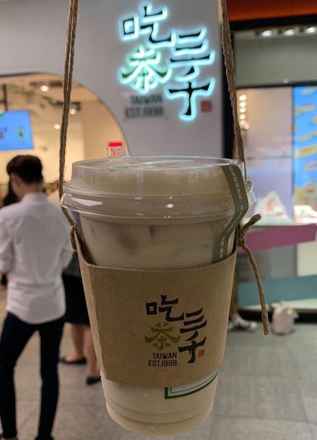 Ding Dong Oolong Fresh Milk Tea | $4.70