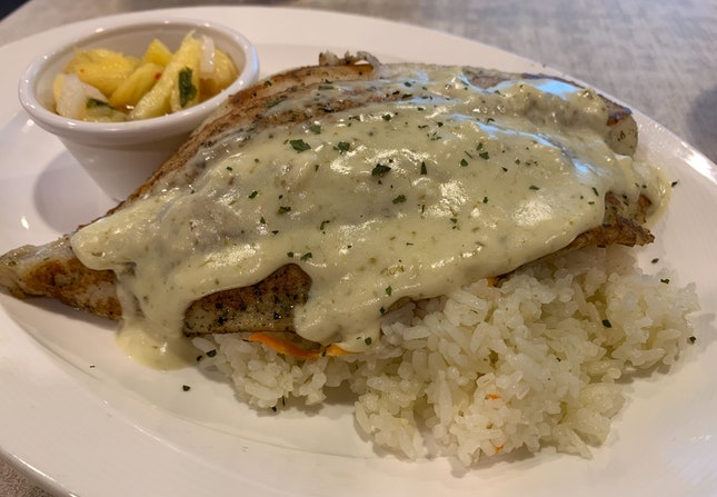 Grilled Dory | $9.30