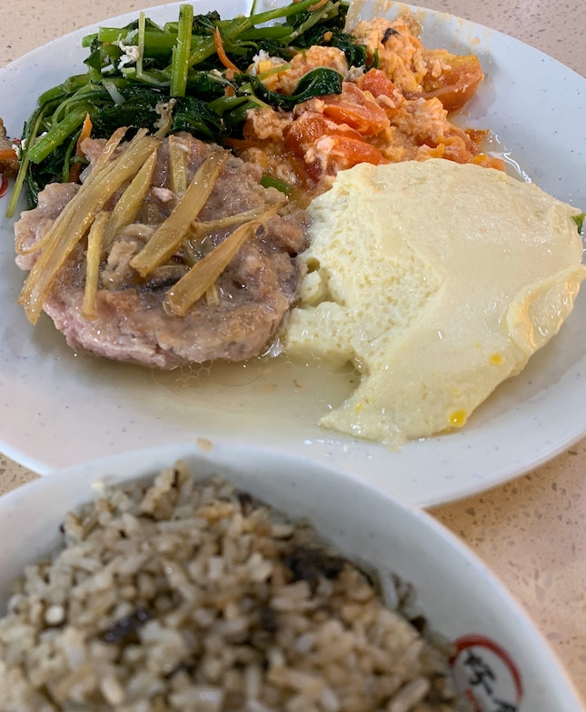 Mixed Vegetable Dishes + Olive Rice | $6.10