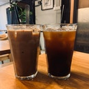 Iced Long Black + Iced Mocha | $6.00 + $7.00
