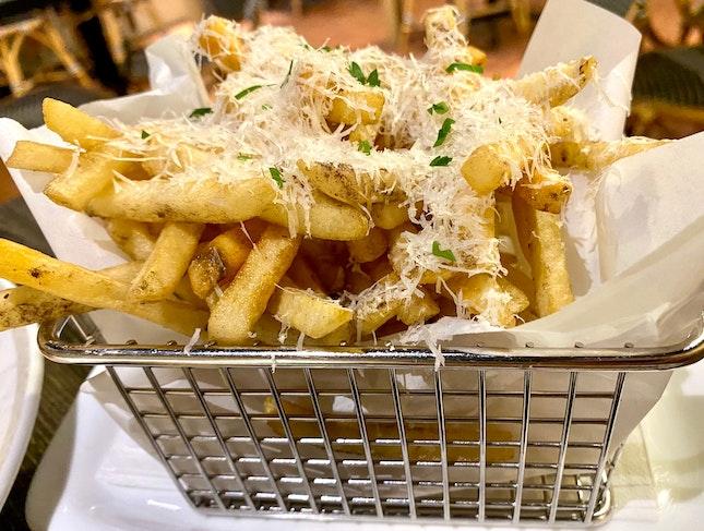 Truffle Shoestring Fries | $9.90++