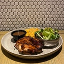Char Grilled Chicken With Black Pepper Sauce | $10.90