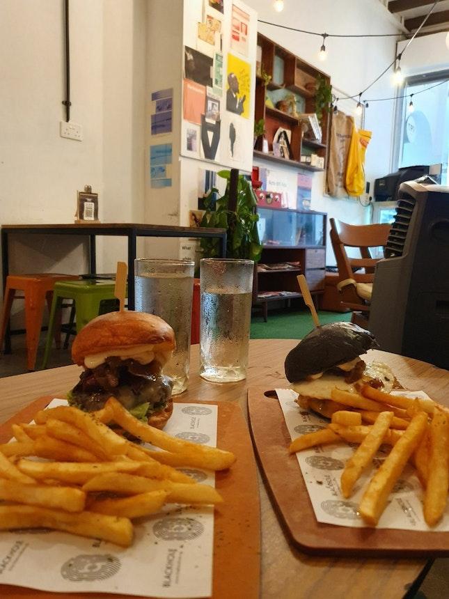 Beef Baconator Burger & Darkwing Duck Burger