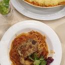 Good Shepherd's Pie & Soft Shell Crab Pasta