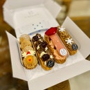 Eclairs (Chestnut, Black Forest, Ispahan, Speculoos)