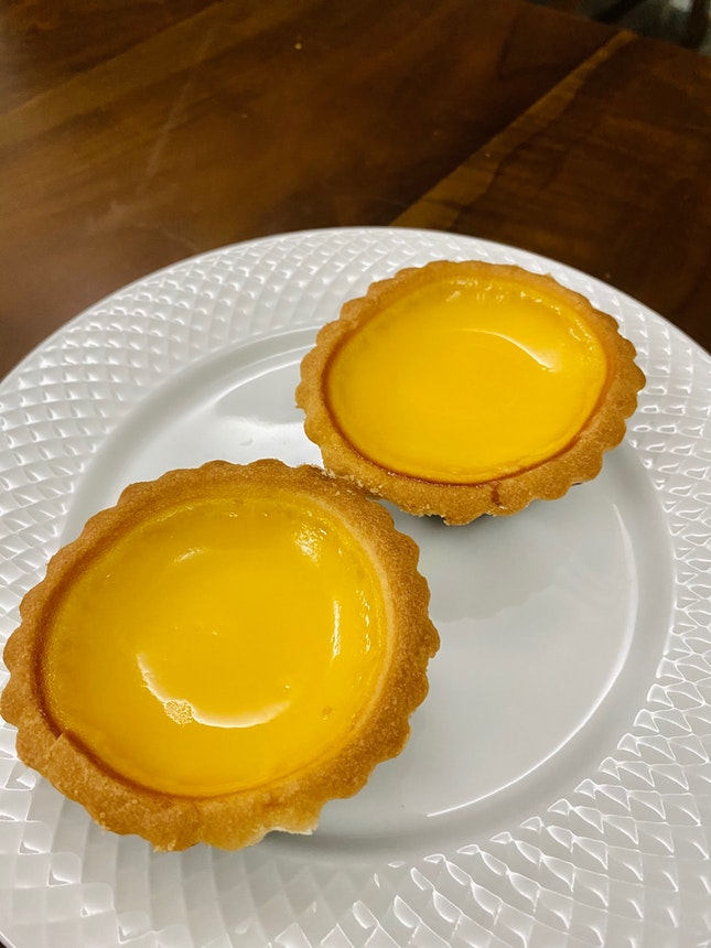 Egg Tarts with Cookie Crust ($2.30 each)