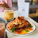 Pulled Chicken Croissant. (RM23)