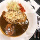 Pork Cutlet Curry Rice