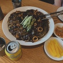 Seafood Jjajangmyeon for $28++