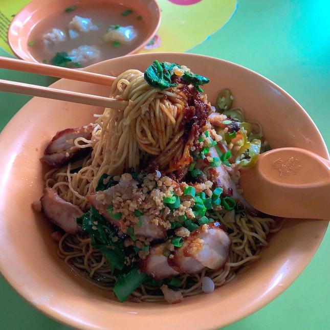 Wanton Noodles ($4)