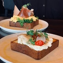 Picturesque Savoury Toast
