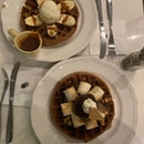 S'mores Waffles and Sassy Fellow Waffles
