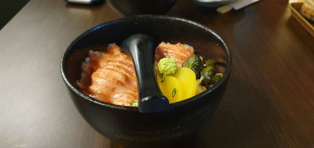 Yummy Bowl Of Salmon Mentaiko Bowl