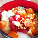 Reasonably Priced Bara-chirashi But Portions Were A Little Small!