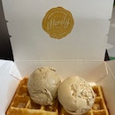Early Grey & Butterscotch with Waffle ($7.50)