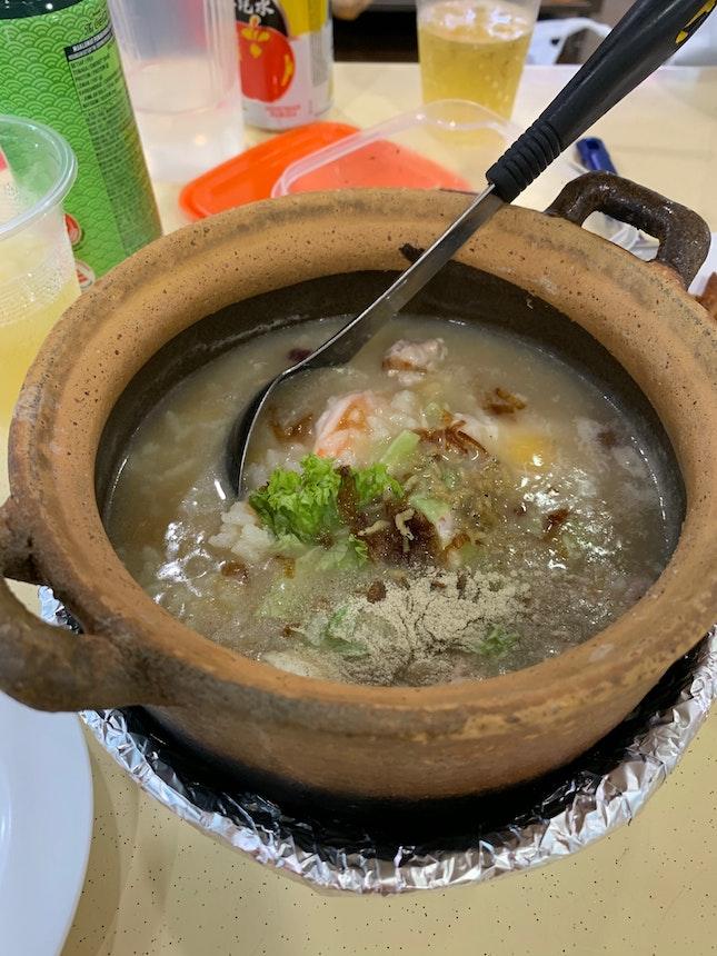 Teochew Claypot Porridge