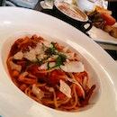 Chicken Arabiatta Spaghetti