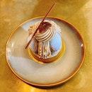 Chestnut Blackcurrant Tart