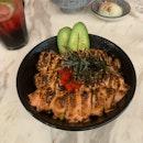 Salmon Mentaiko & Truffle Beef