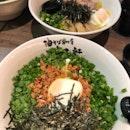 Mazesoba Nagoya Style + Mazesoba w/ Soft Boiled Egg