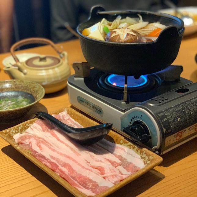 Pork Sukiyaki ($17)