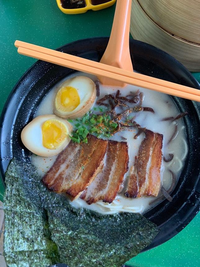 Special Tonkotsu Ramen ($6.90)