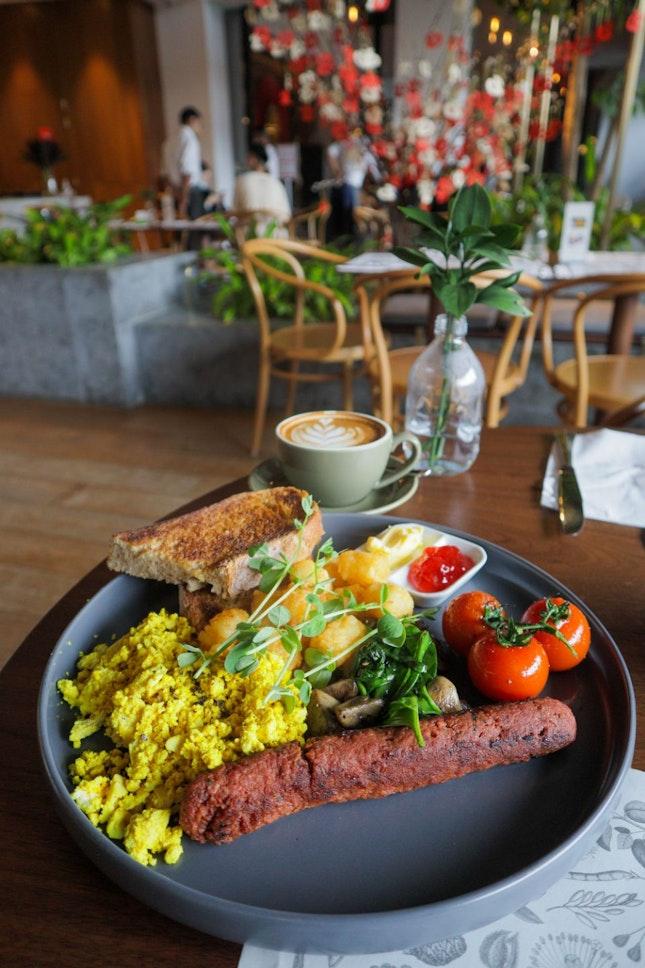 Vegan Green Breakfast