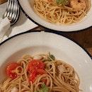 Baby Scallop & Chilli Lime Seafood Aglio Olio