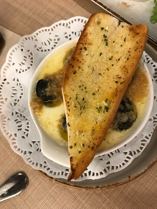 French Baked Escargot