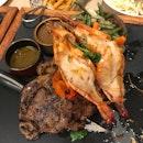 Prawn & Steak