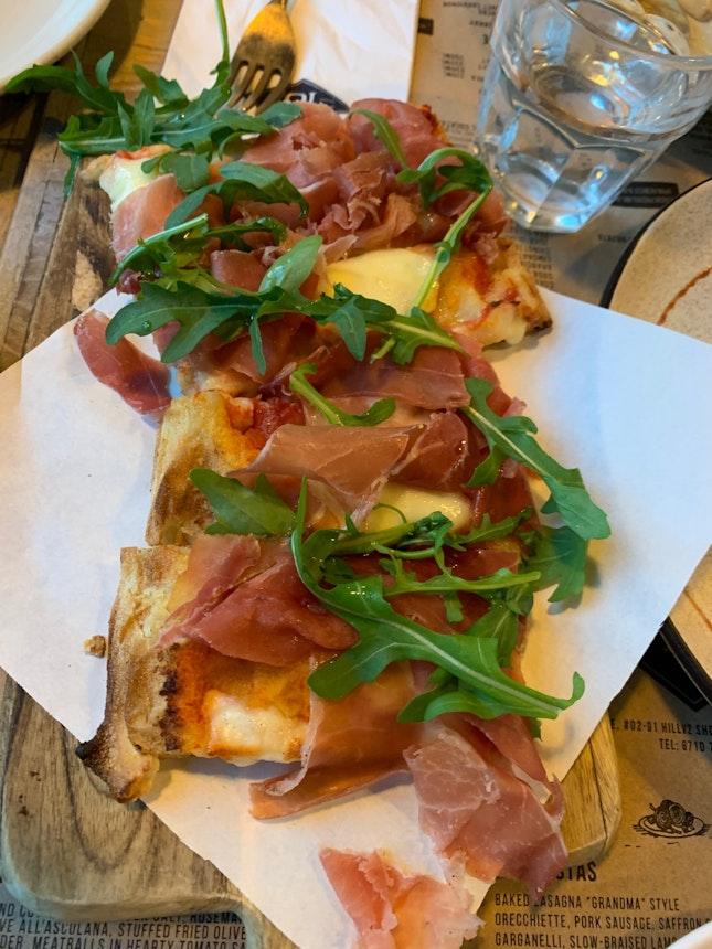 The Missing Medium Parma Ham