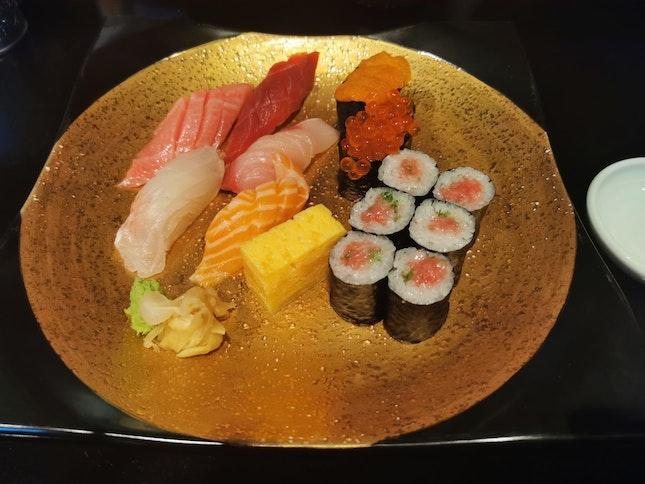 Tokujou Sushi - $120