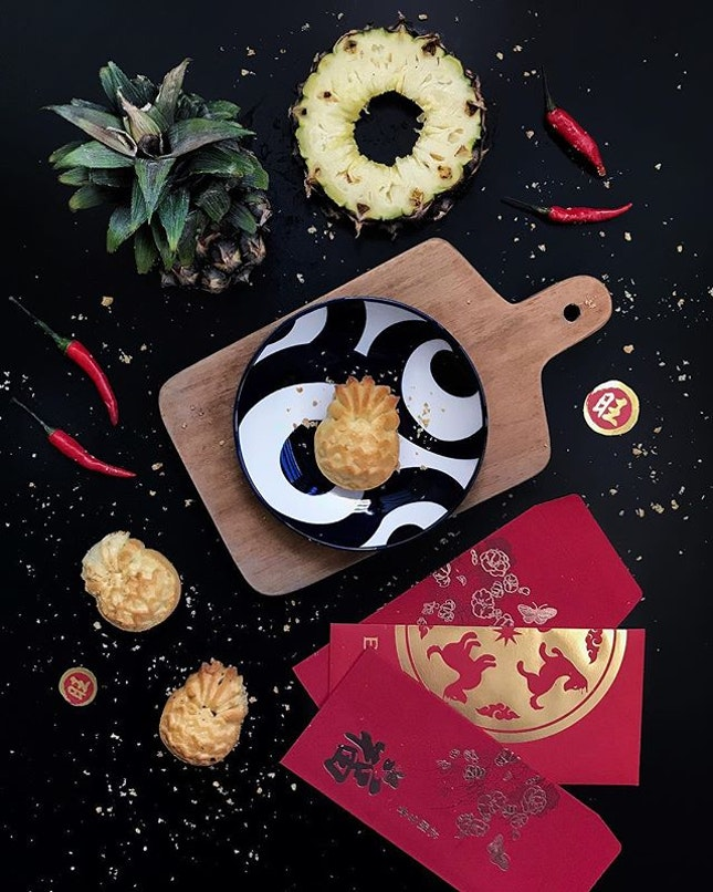 @oldsengchoong is proud to present 2 new Pineapple Tarts that celebrate the diverse food culture Singapore is renowned for.