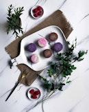 @peonyjadesg presents Mini Snowskin Flavours ($72 for 8 pieces) .