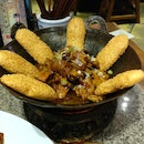 Stewed Rooster With Crispy Pastry Sticks
