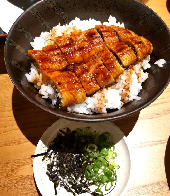 Unagi Hitsumabushi (15.80sgd)
