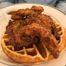 Chicken & Waffles [$21.00++]