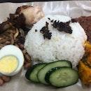 Nasi lemak - drumsticks