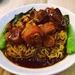 Pork Trotters vinegar Noodles