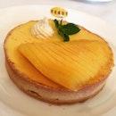 Mango tart 😊 #weekend #tart #mango #dessert #afoodiesaffair #happy #instafood #foodporn #foodielove #burpple
