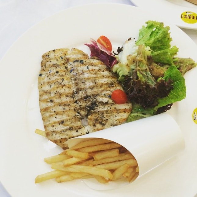 Pan seared barramundi for lunch?