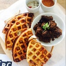 Onion Thosai Waffle