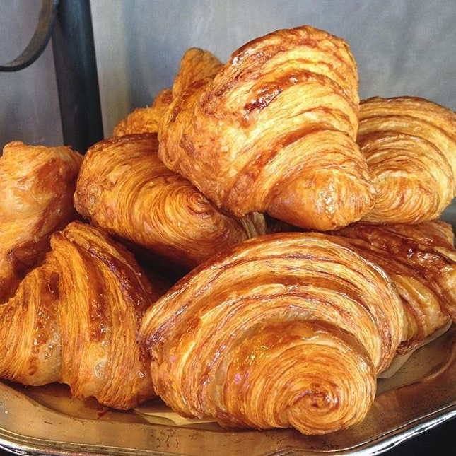 Missing these lovely Croissants and Pain Au Chocolat.