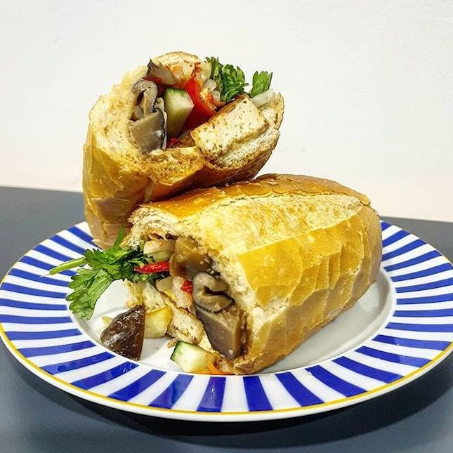 Vegetarian Banh Mi!